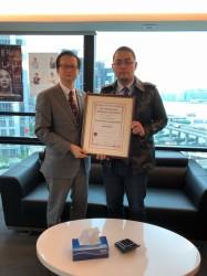 熱烈歡迎新會員香港創業板上市公司8018主席陳偉龍博士AIPostdocA