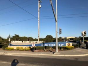六位協會會員到美國加州州立大學