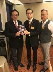 20170721與國際博士後協會中國中部主席陳天聰博士後出席立法會主席晩宴