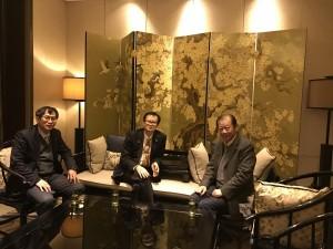 20170216於北京頒發榮譽顧問証書給初志農教授(中聯辦教科部前部長)