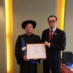 熱烈祝賀張競博士獲頒魁北克大學博士後文憑