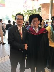 香港主席廖寶城博士後榮獲工程院士FEng
